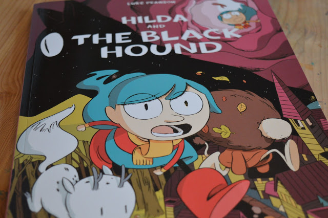 Book Review: Hilda and the Black Hound by Luke Pearson.