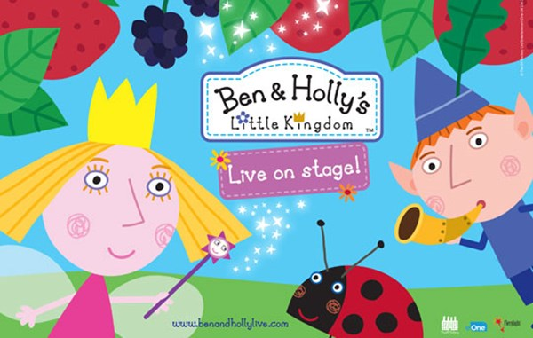 Giveaway: Win four tickets to see Ben and Holly's Little Kingdom at New Theatre, Cardiff!