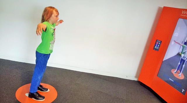 Interactive and fun science for all: Virtual Changing Room at Techniquest!
