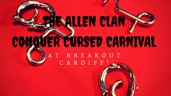 The Allen Clan Conquer Cursed Carnival at Breakout Cardiff!
