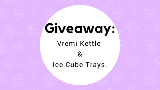 Giveaway: Vremi Kettle & Ice Cube Trays.
