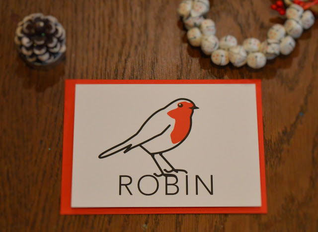 graphic robin card