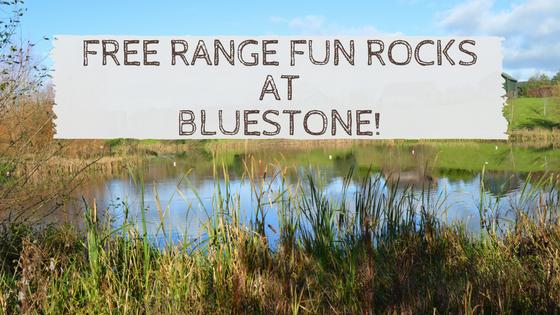 Free Range Fun Rocks at Bluestone!
