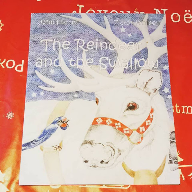 Book Review: The Reindeer and the Swallow by John Harris and Zara Harrison.
