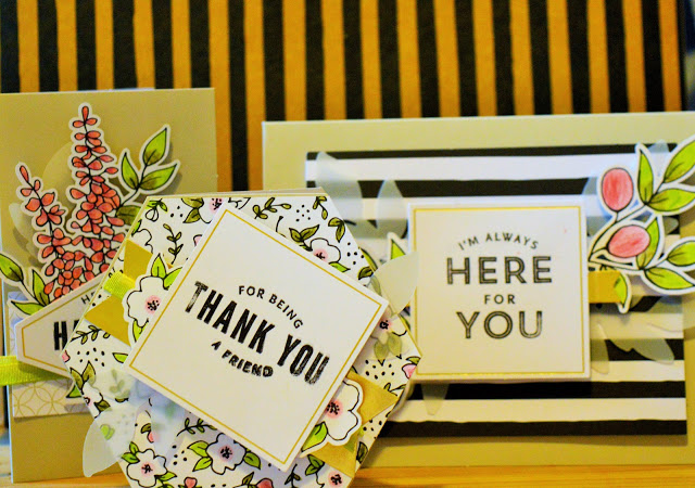 Selection of handmade cards.