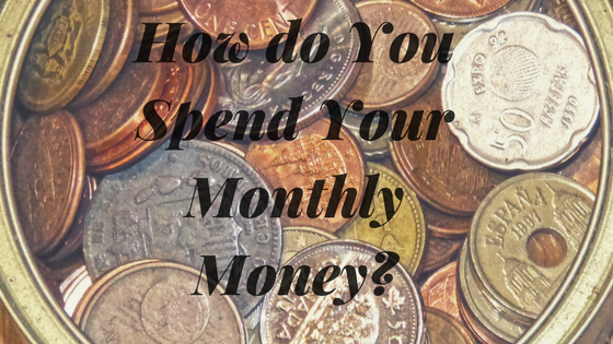 How do You Spend Your Monthly Money?