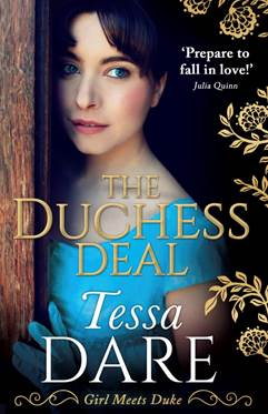 Blog Tour: The Duchess Deal by Tessa Dare.