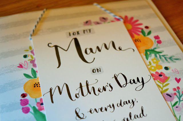 A Mother's Day Card.