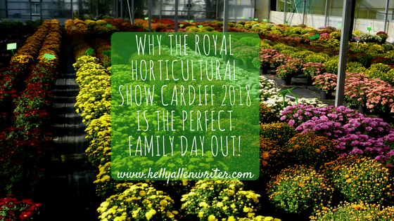 Why the Royal Horticultural Society Flower Show Cardiff 2018 is the Perfect Family Day Out!