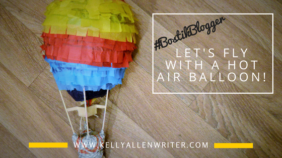 Let's Fly with a Hot Air Balloon Craft! #BostikBlogger