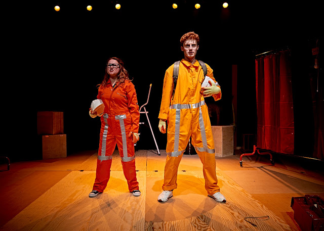 Theatre Review: Lightspeed From Pembroke Dock at Chapter Arts.