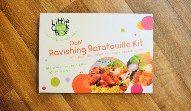 Ratatouille box kit for kids.