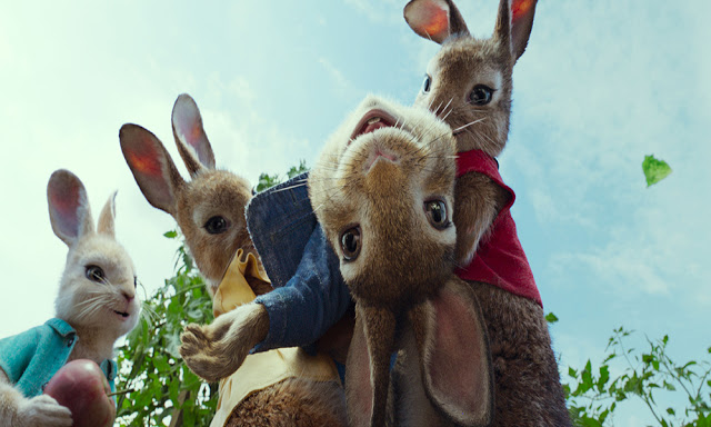 Review: Peter Rabbit the Movie & My Thoughts on the Allergy Scene.