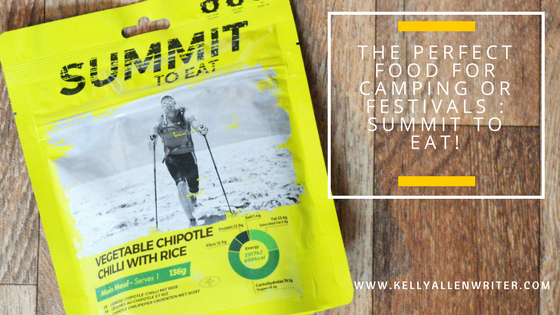 The Perfect Food for Camping or Festivals : Summit to Eat!