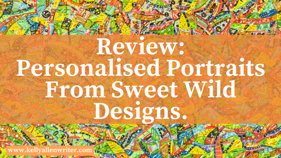 Review: Personalised Portraits From Sweet Wild Designs.