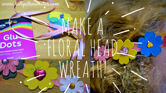 Floral Head Wreath Tutorial: #BostikBlogger.