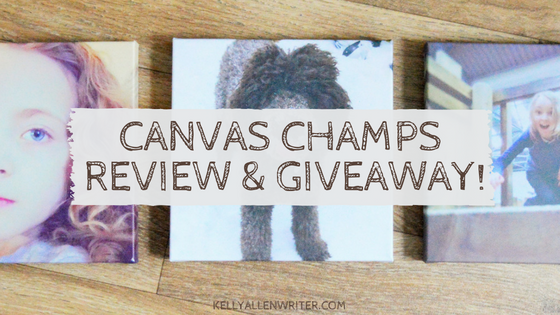 Review & Giveaway: Beautiful Photo Canvasses From Canvas Champ.