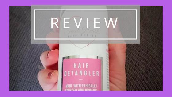 Review: SweetHearts Hair Design Hair Detangler.