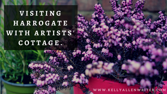 Travelling to Harrogate With Artists' Cottages.