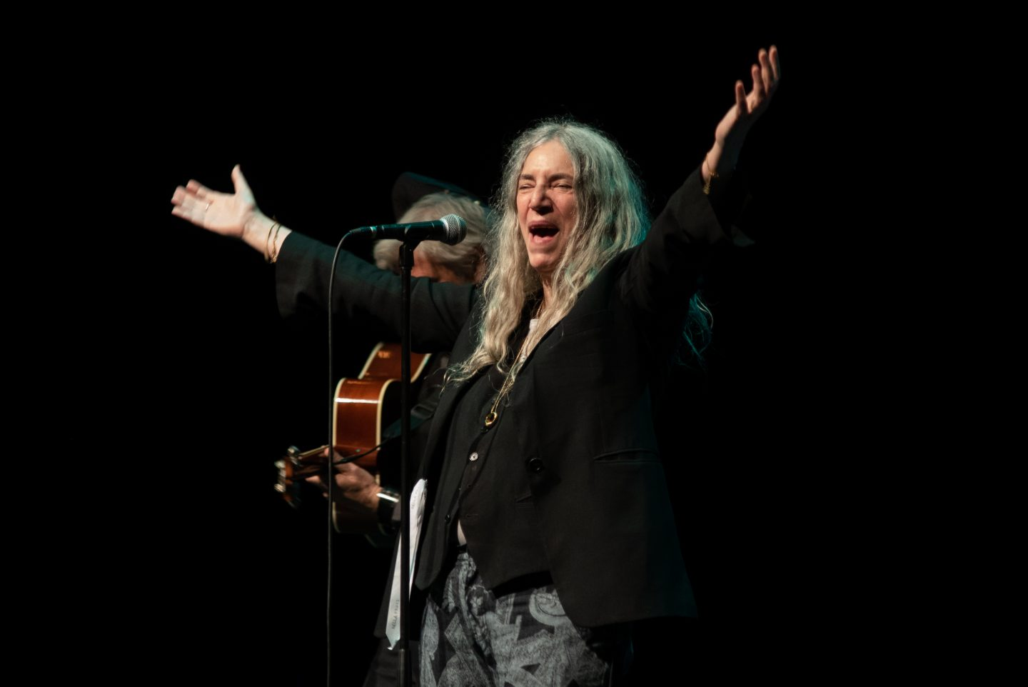 Patti Smith on Stage Festival of Voice 2018
