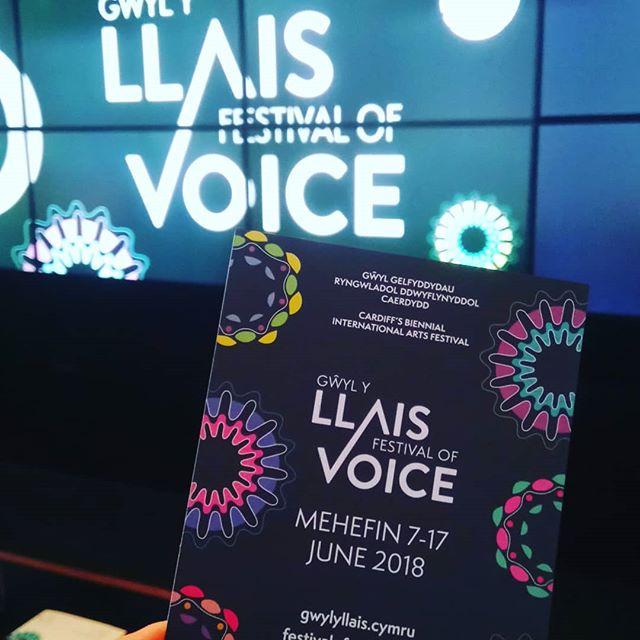 It's Begun: Festival of Voice Wales Week One.