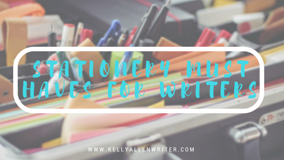 Stationery Must Haves for Writers