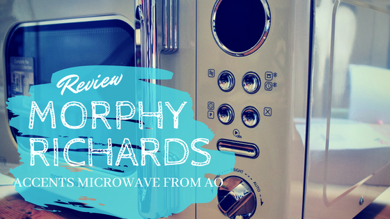 Review: Morphy Richards Accents Microwave from AO