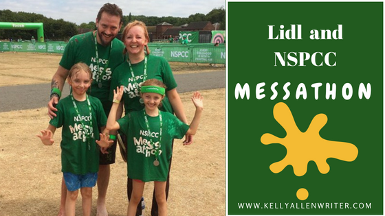 Messy, Mad and Magical: Lidl Messathon – Raising Money for NSPCC