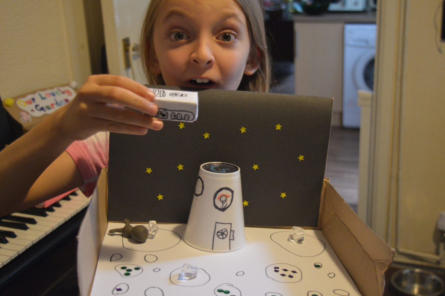Make a Moon Base in a Box! #BostikBloggers