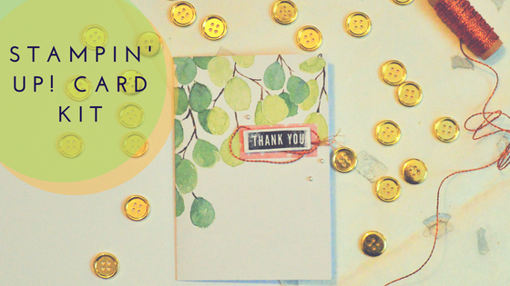 Review: Stampin Up! Notes of Kindness