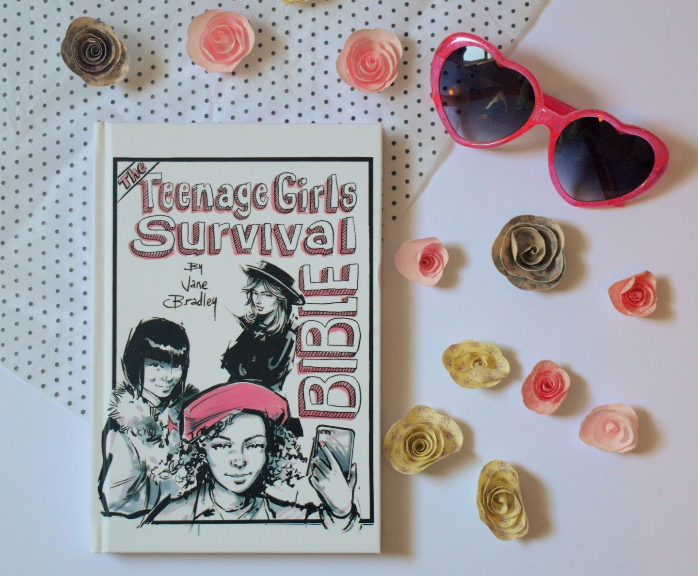 Book Review: The Teenage Girls Survival Bible by Jane Bradley