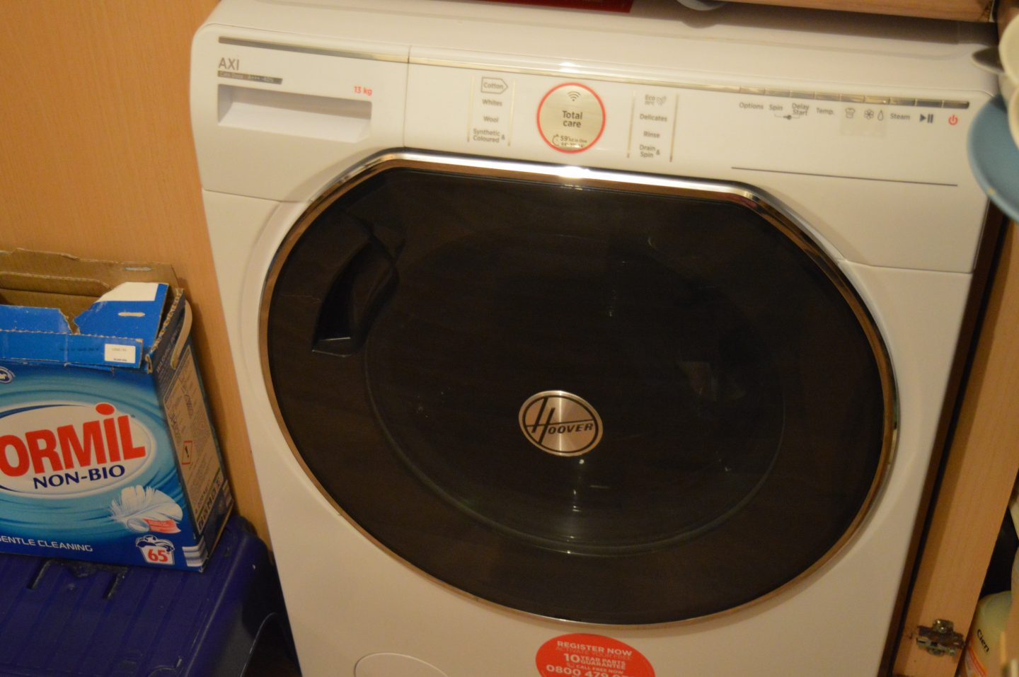 Review: Hoover AXI AWMPD413LH713Kg Washing Machine from AO
