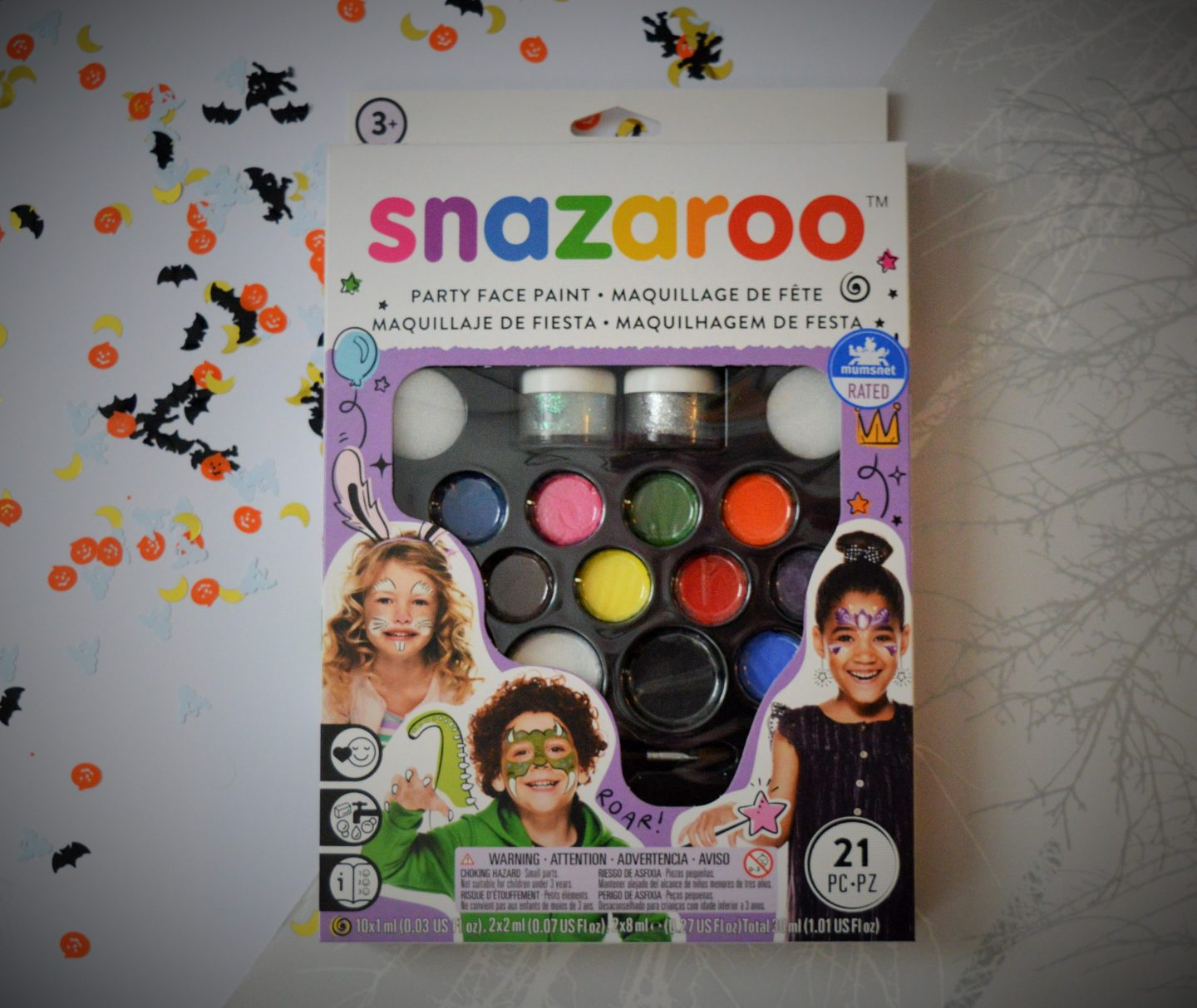 must have Halloween items for 2018 snazaroo make up set