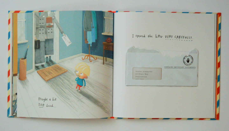 Dragon Post by Emma Yarlett book illustrations