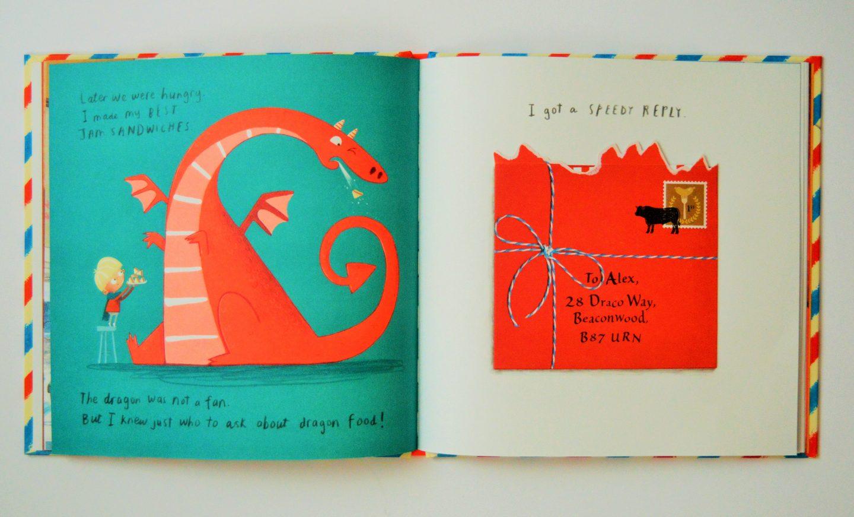 Dragon Post by Emma Yarlett illustrations