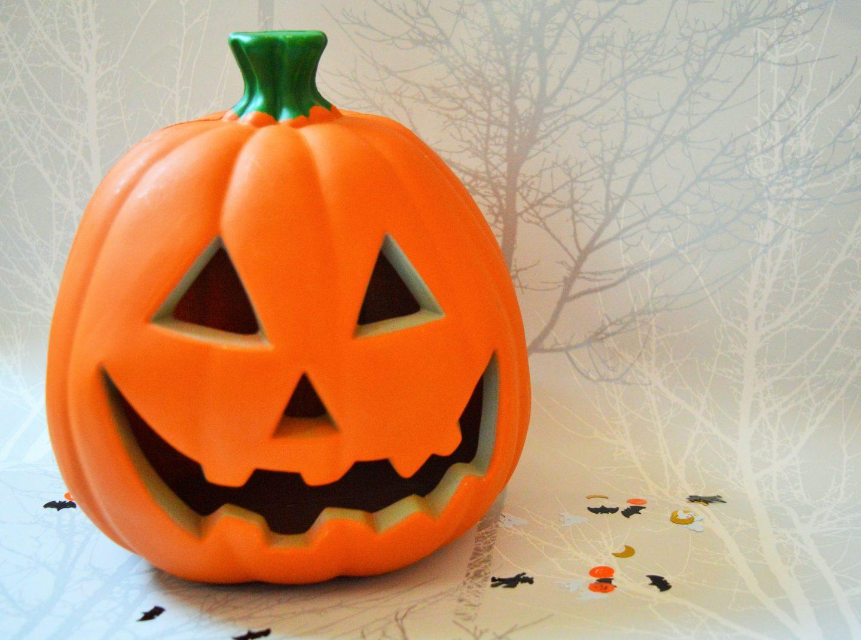 Halloween decorations from Wilko light up pumpkin