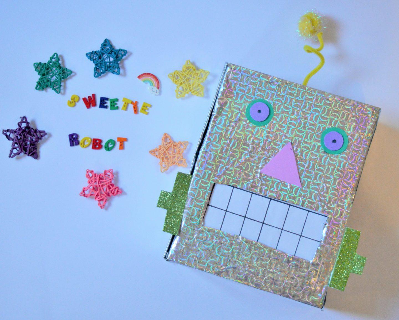 Robot Crafts: Make a Sweetie Robot #BostikBlogger