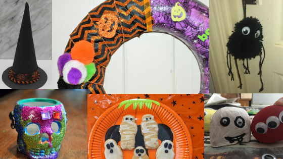 30+ Gruesomely Good Halloween Crafts for Kids