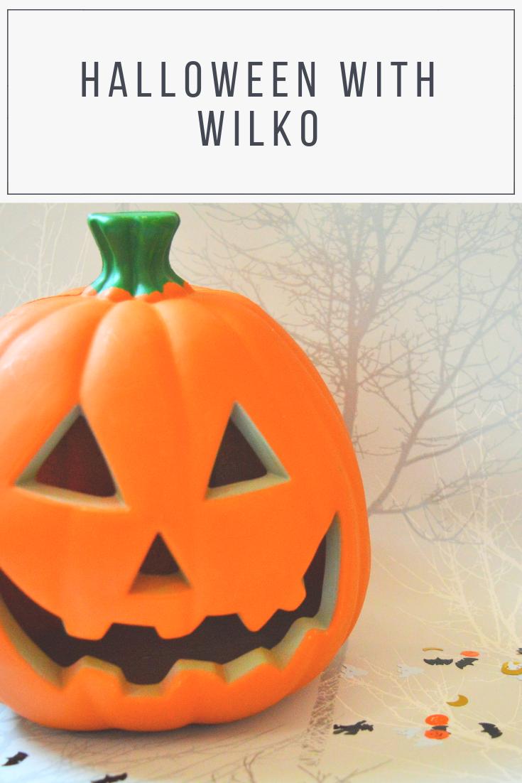 Halloween decorations from Wilko Pinterest pin
