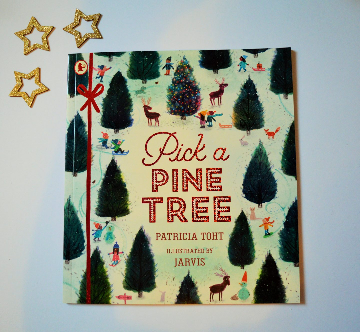 Review & Giveaway: Pick a Pine Tree by Patricia Toht and Illustrated by Jarvis