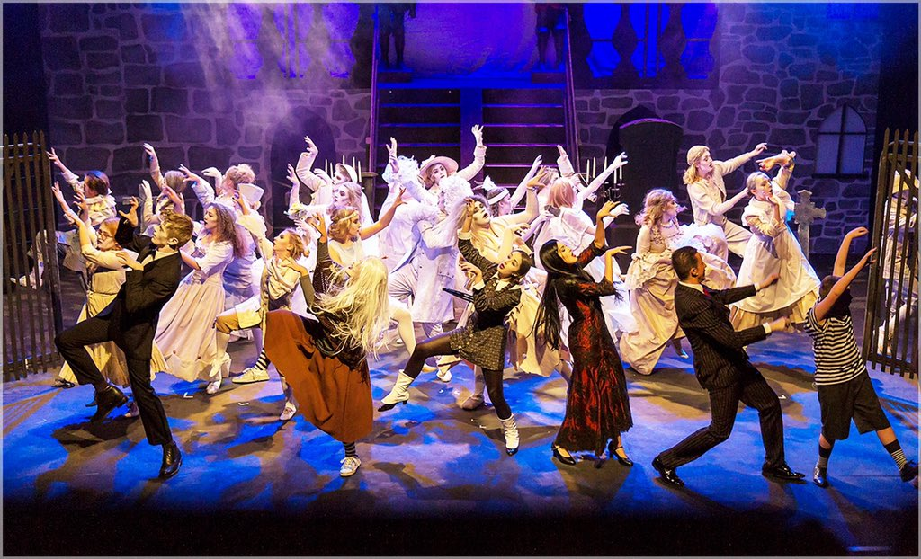 Review: Kinetic School of Performing Arts Presents The Addams Family Musical